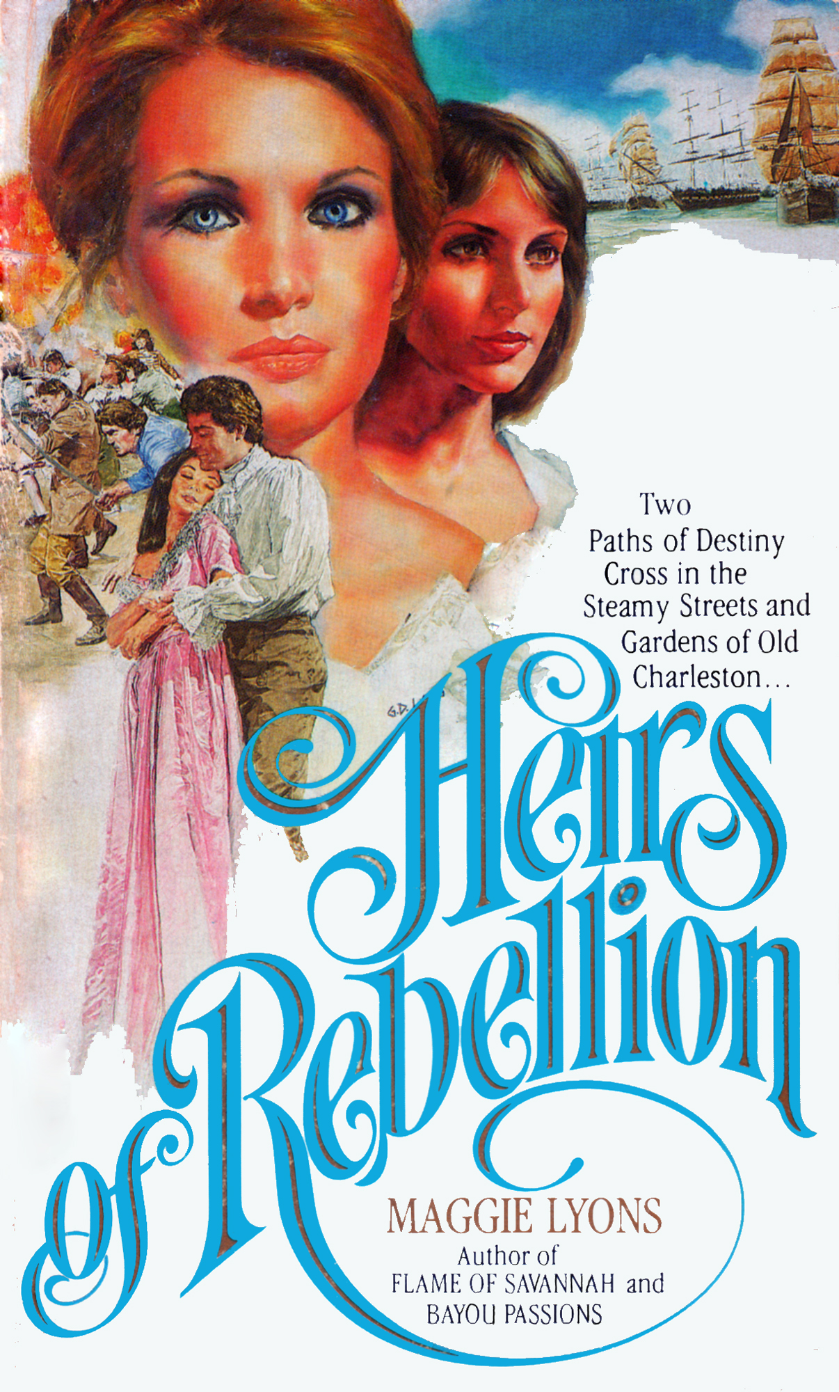 "There's lots of rebellious belles in ""Heirs of Rebellion."""