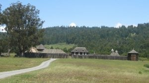 Perched on a bluff overlooking the Pacific, Fort Ross was Russia's first and last foothold in California.