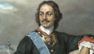Peter the Great was the first Russian to covet territory in the New World.
