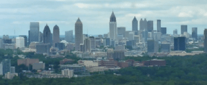 Atlanta has not one but four skylines with more on the way.