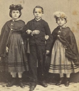 These white slave children from New Orleans were taken to New York where they found freedom and new clothes. They were the happy exception.