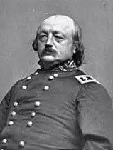 "Union General Benjamin Butler, known as ""Beast Butler"" for his brutal Reconstruction policies."