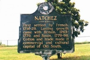 Natchez Marker