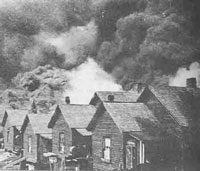 The 1917 blaze leveled almost 2000 buildings.