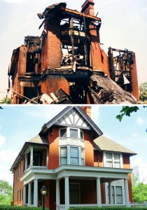 Margaret Mitchell's apartment building survives...just barely!