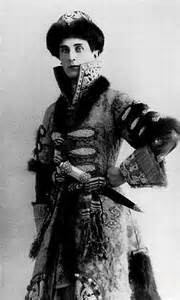 Prince Felix Yusupov costumed for a ball. Did he mastermind the plot to assassinate Rasputin?