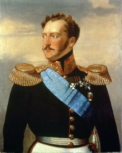 Tsar Nicholas I.