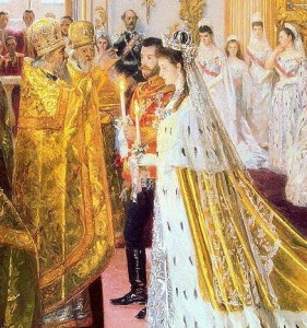 Wedding_of_Nicholas_II_and_Alexandra_Feodorovna_by_Laurits_Tuxen_(1895,_Hermitage) (2)