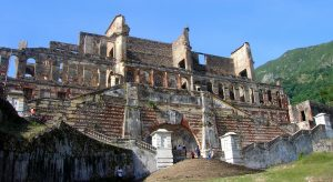 Even in ruin, Henry's Sans Souci Palace remains majestic.