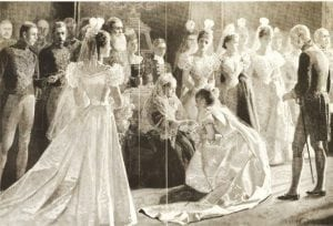 At the height of her glory, Jennie was presented to Queen Victoria